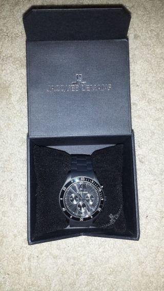Jacques Lemans 1 - 1586 Armbanduhr Für Herren Bild