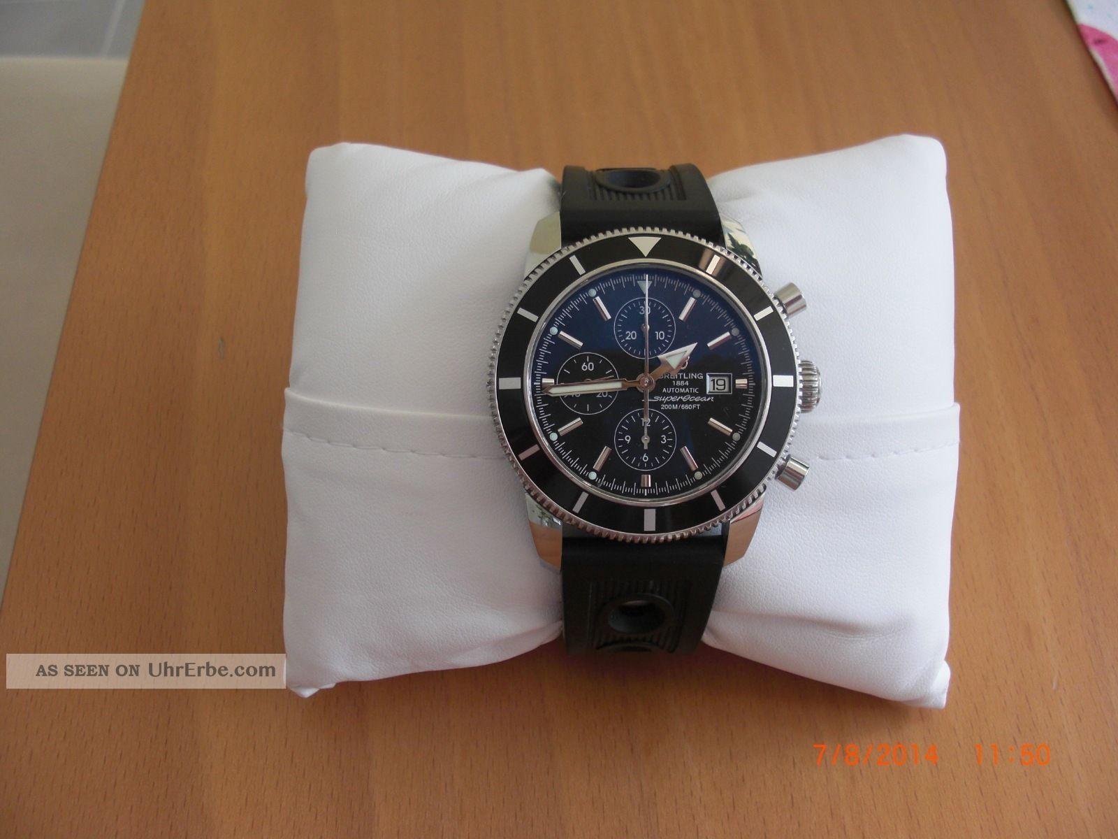 Herrenuhr Breitling Superocean Heritage Chronographe 46 Armbanduhren Bild