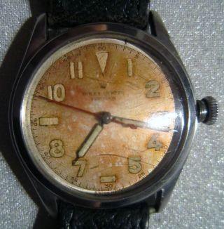 Hau Rolex Oyster Modell 4377 Precision/ Seltenem 17 Jewels Rolex - Kaliber Um 1945 Bild