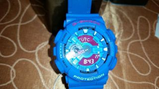 Casio G - Shock Ga - 110hc - 2aer Armbanduhr Für Herren Bild