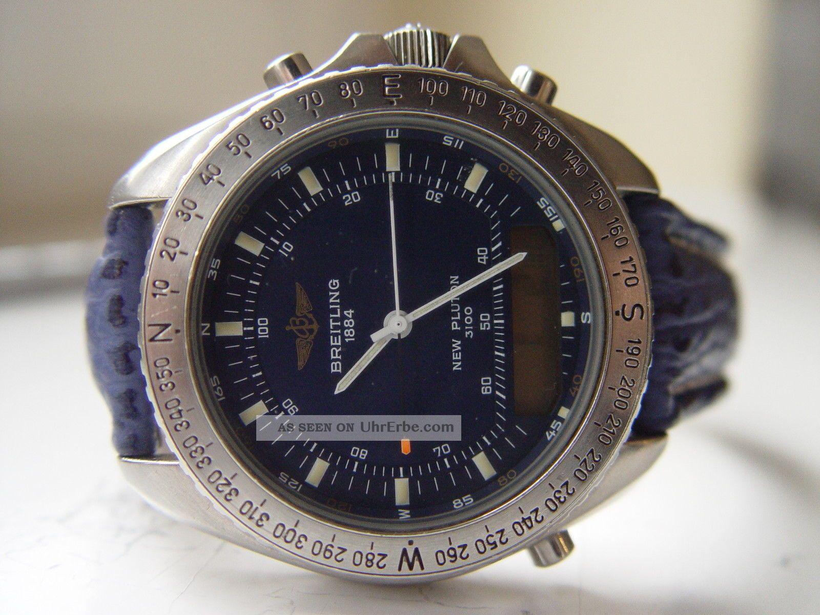 Breitling Pluton 3100 Armbanduhren Bild