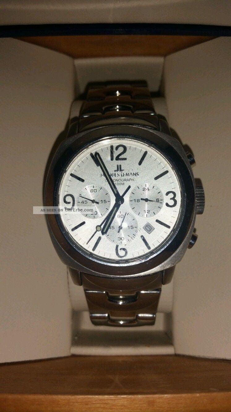 Jaques Lemans Herrenuhr Armbanduhren Bild