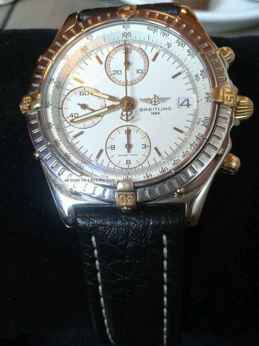 Breitling Chronomat Stahl / Goldreiter Armbanduhren Bild