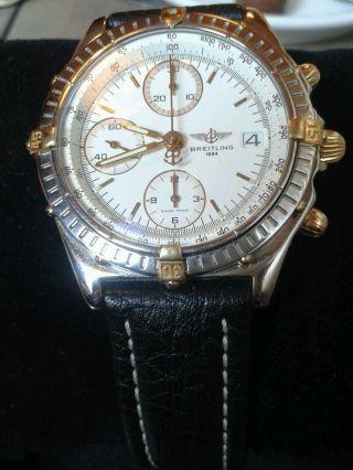 Breitling Chronomat Stahl / Goldreiter Bild