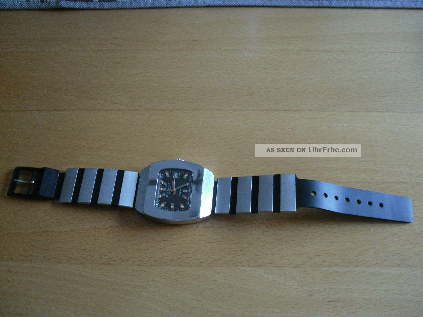 Vintage Kienzle Sport Herren Armbanduhr 70 ' Er Jahre Armbanduhren Bild