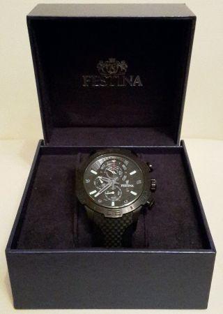 Festina F16567/7 Xl Chronograph Schwarz La Vuelta Serie Bild