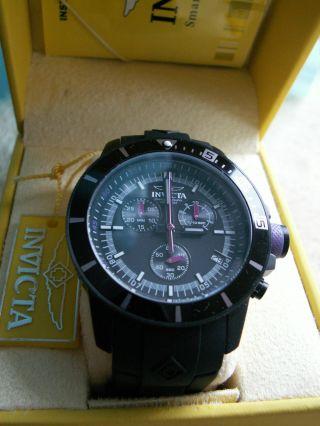 Invicta Mens 13936 Pro Diver Swiss Quartz Black Bild