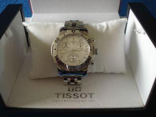 Tissot Herren Chronograph/armbanduhr Edelstahl Prs 200 Bild