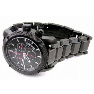 Burberry Herren Sport Uhr Bu7703 Endurance Black Chronograph Bild