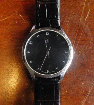 Calvin Klein Herrenarmbanduhr K26 211 Ck Armbanduhr Schwarz Modern Bild