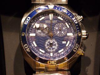 Sector Ocean Master Swiss Made Chronograph Saphir Glas Taucher Hau Neu/ovp Bild