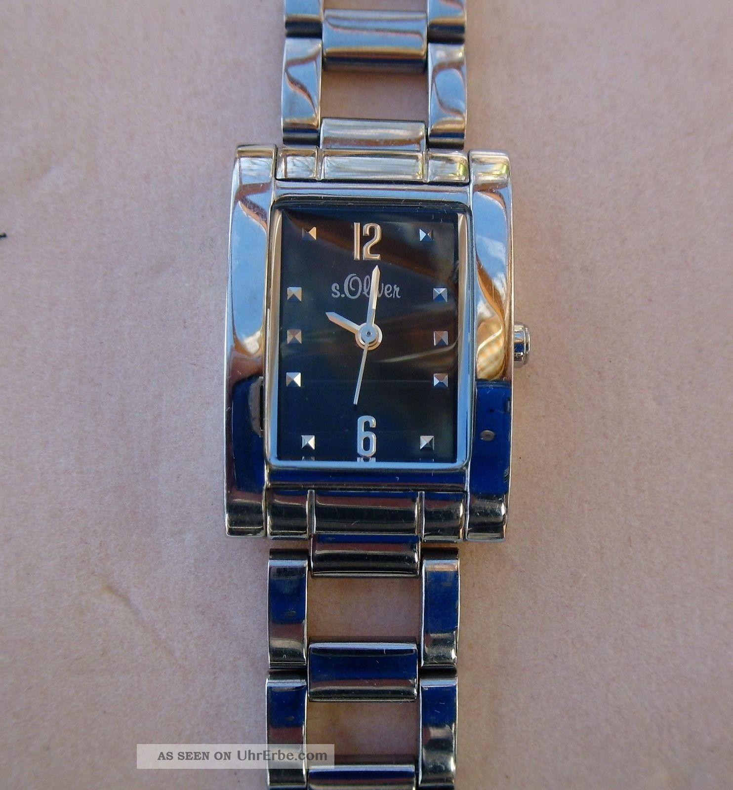 Tolle Damenuhr S Oliver Armbanduhren Bild