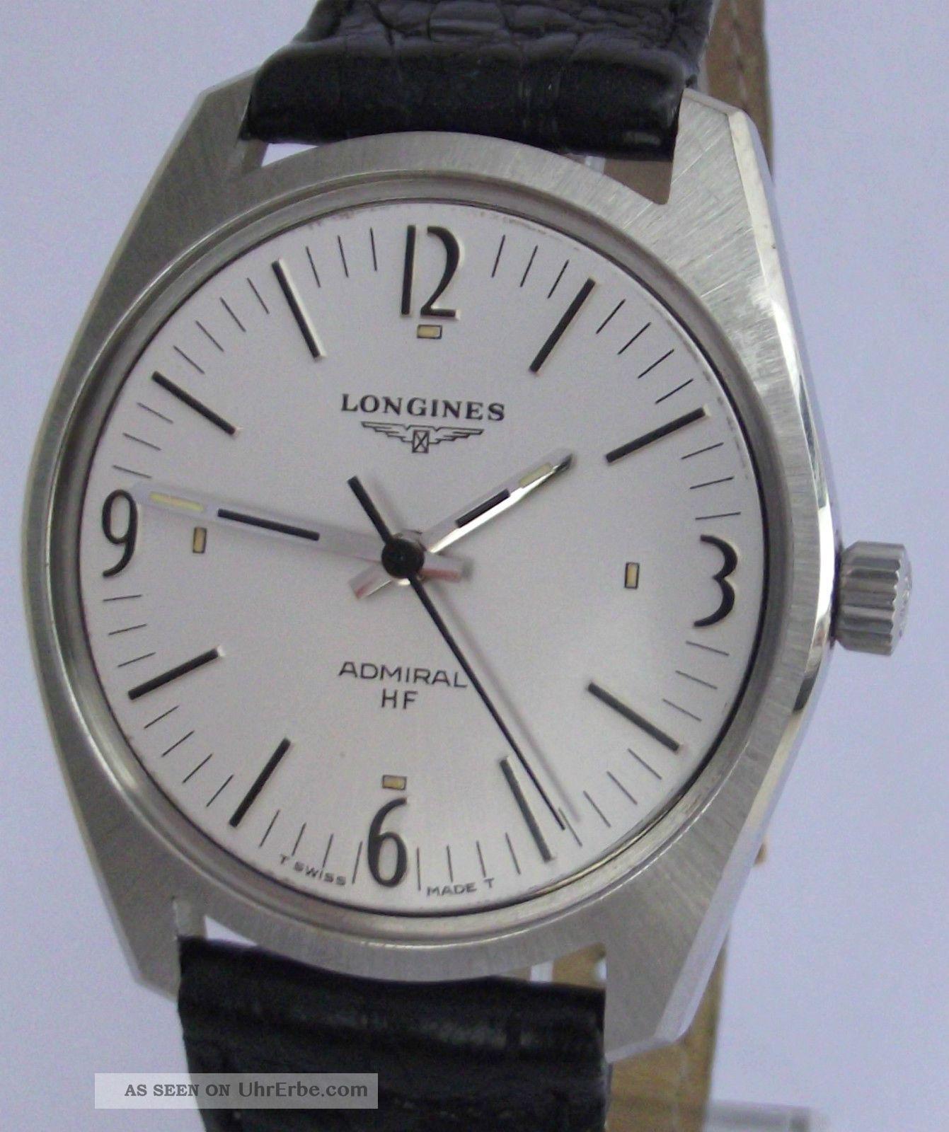 Hau Longines Admiral Hf,  Cal.  Longines 6942,  Um 1970 Armbanduhren Bild