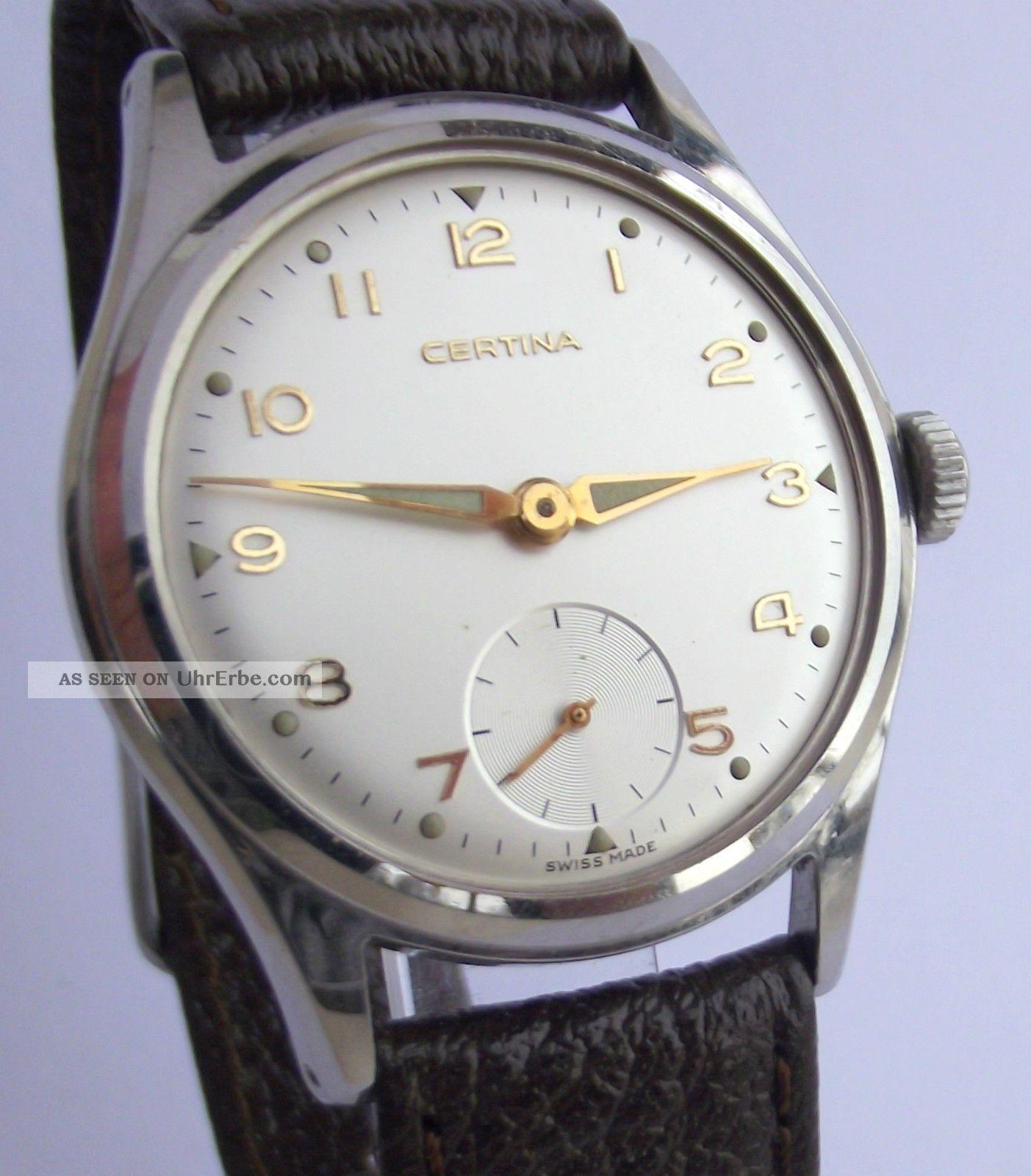 Hau Certina,  Cal.  Certina 320,  Um 1960 Armbanduhren Bild
