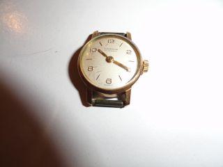 Junghans Damenuhr Handaufzug Vintage Ohne Armband Aber Funktionstüchtig Bild