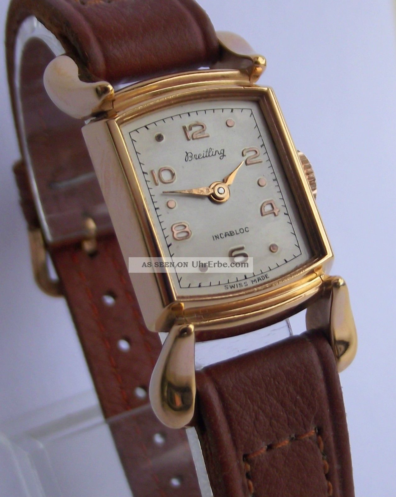 Dau Breitling,  Cal.  Fhf 190,  Um 1950 Armbanduhren Bild