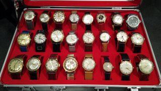 Konvolut An Uhren - Jungans - Kienzle - Zentra - 24 Uhren Bild