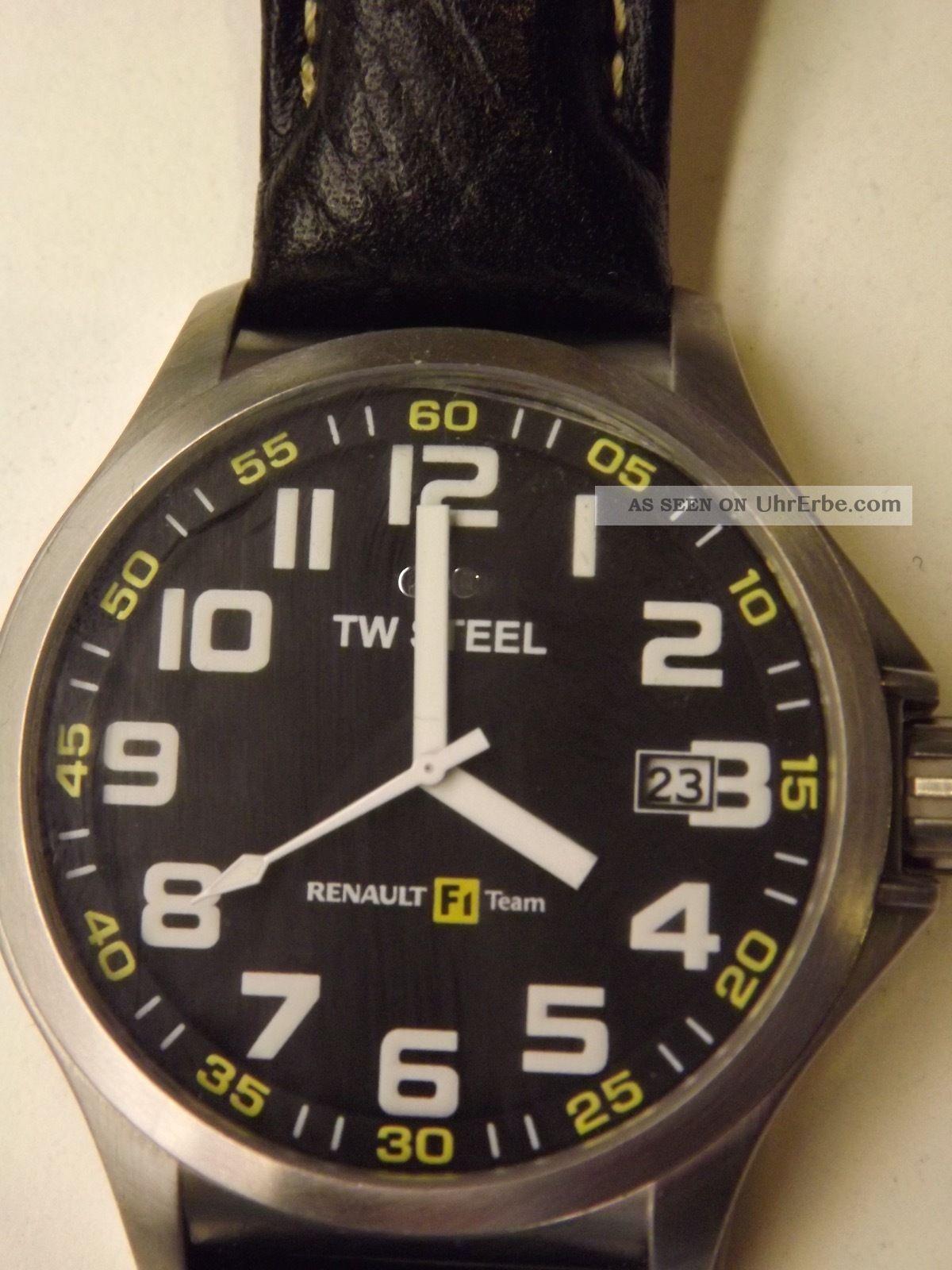 Tw Steel Pilot Renault F1 Team Armbanduhr Für Herren (tw670) Armbanduhren Bild