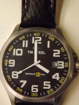 Tw Steel Pilot Renault F1 Team Armbanduhr Für Herren (tw670) Bild