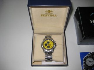 Festina Chronograph Herrenuhr Bild