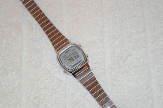 Casio Uhr Retro La670wea - 7ef Digitaluhr Silber Bild