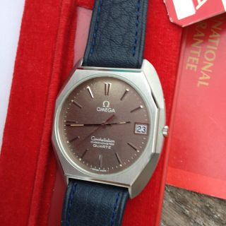 Omega Constellation 1333 Vintage/nos Ungetragen Box/garantieheft Bild