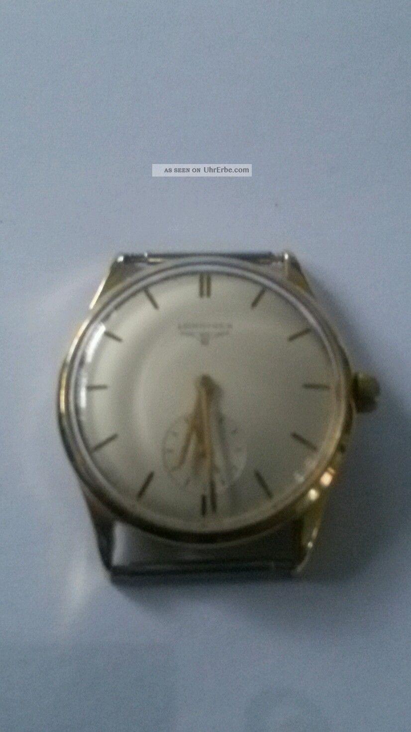 Longines Herrenuhr 585 Gold Armbanduhren Bild