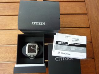 Herrenuhr Citizen Eco - Drive Bm6691 - 56e In Originalverpackung Herrenarmbanduhr Bild