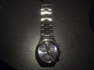 Swatch Herren Armbanduhr Irony Chrono Edelstahl Bild