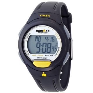 Herren Armbanduhr Timex Ironman Triathlon Indiglo Grau Digital Schwarz T5k779 Bild