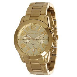Michael Kors Damen Uhr Mk5726 Mercer Chronograph Mittelgroß Gold Ton Stahluhr Bild