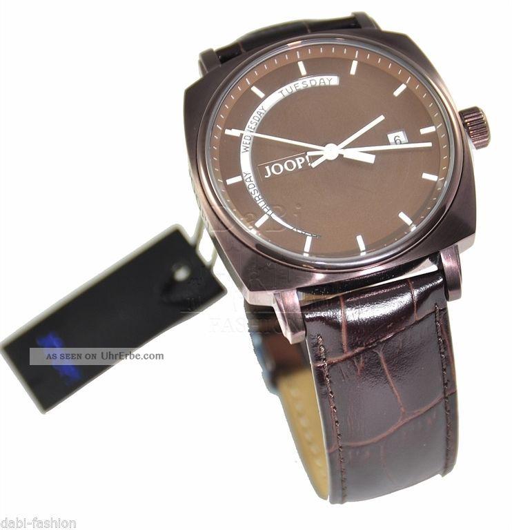 Joop Jp100521f06 Herrenuhr Ovp Analog,  Datumsanzeige Uvp=249.  - Armbanduhren Bild