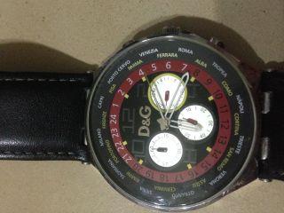 Orginal D&g Dolce & Gabbana Herrenuhr Bis 10 Atm Wasserdicht Bild