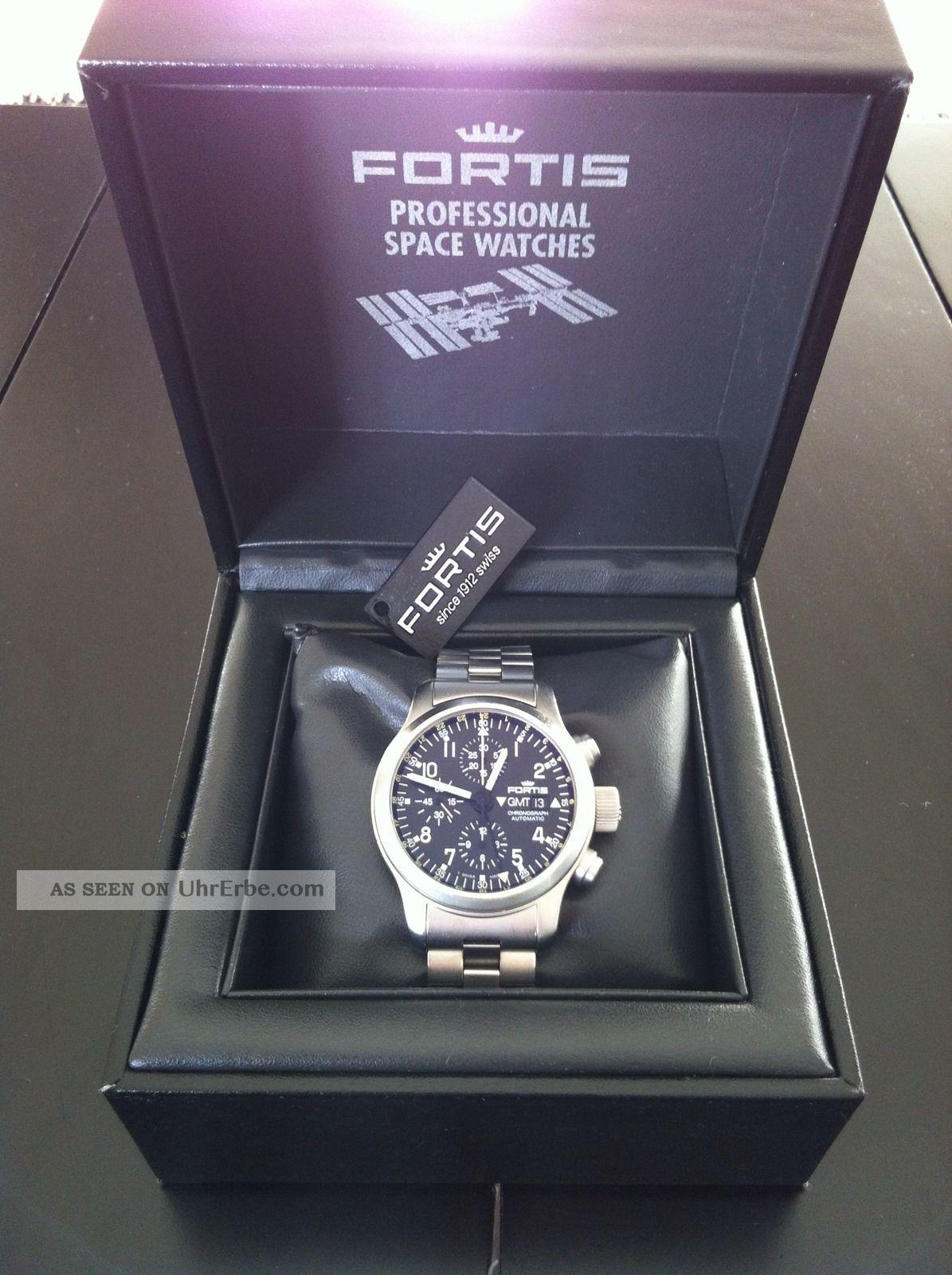 Fortis B - 42 Pilot Professional Chronograph Gmt Automatic Armbanduhren Bild