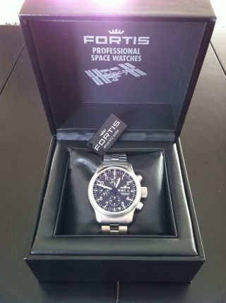 Fortis B - 42 Pilot Professional Chronograph Gmt Automatic Bild