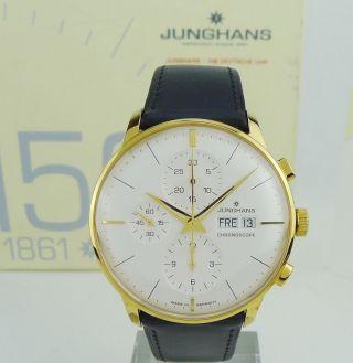 Junghans Meister Chronoscope Automatic Chronograph Day - Date 027/7122.  00 - Bild