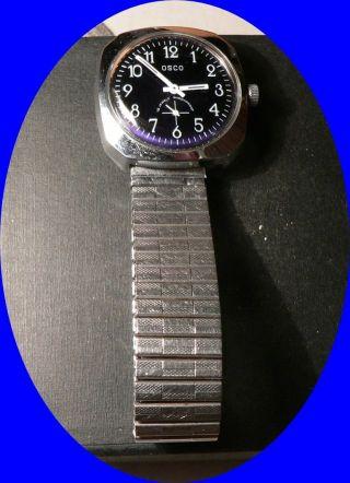 Alte Armbanduhr (herren) Osco - Ca.  50er Jahre,  Oder älter - Läuft Einwandfrei Bild