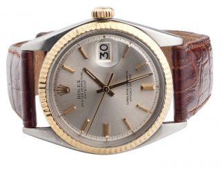 Lederband Rolex - Datum Sehen Nur Stick Wahl Rolex Bild