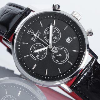 Detomaso Milano Chronograph Herrenuhr Uvp 165,  - Stoppuhr Fachhändler Bild