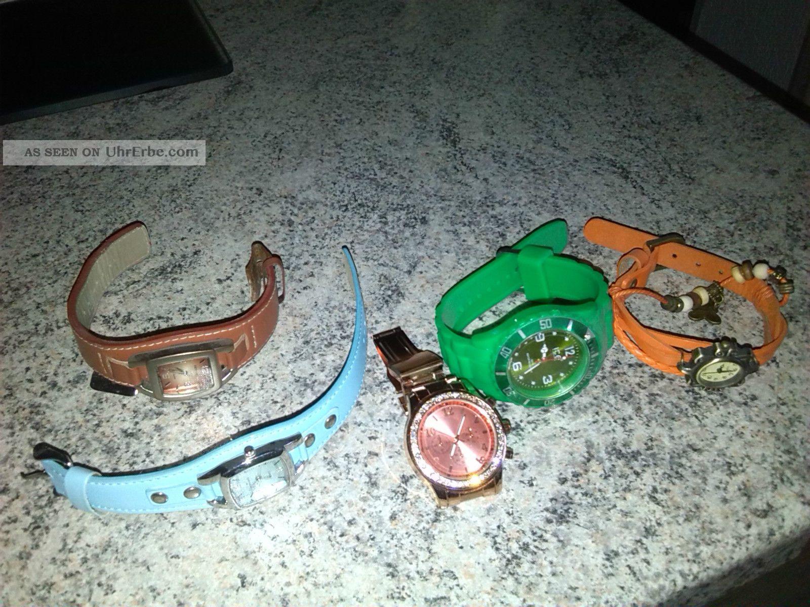 5 Damenuhren Armbanduhren Bild