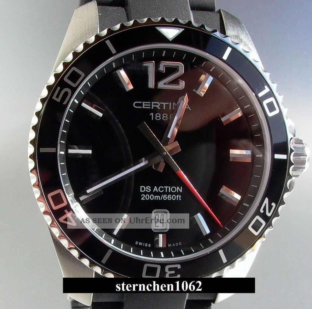 Certina Ds Action Ref.  C01341017057000 Armbanduhren Bild