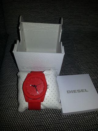 Diesel Herrenuhr Dz1589 Rubber Company Mit Etikett Und Ovp Np:99,  00€ Bild