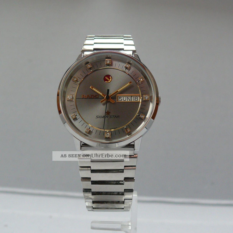 Rado Silver Star Automatic 1970´er Jahre (18.  72 - 466) Armbanduhren Bild