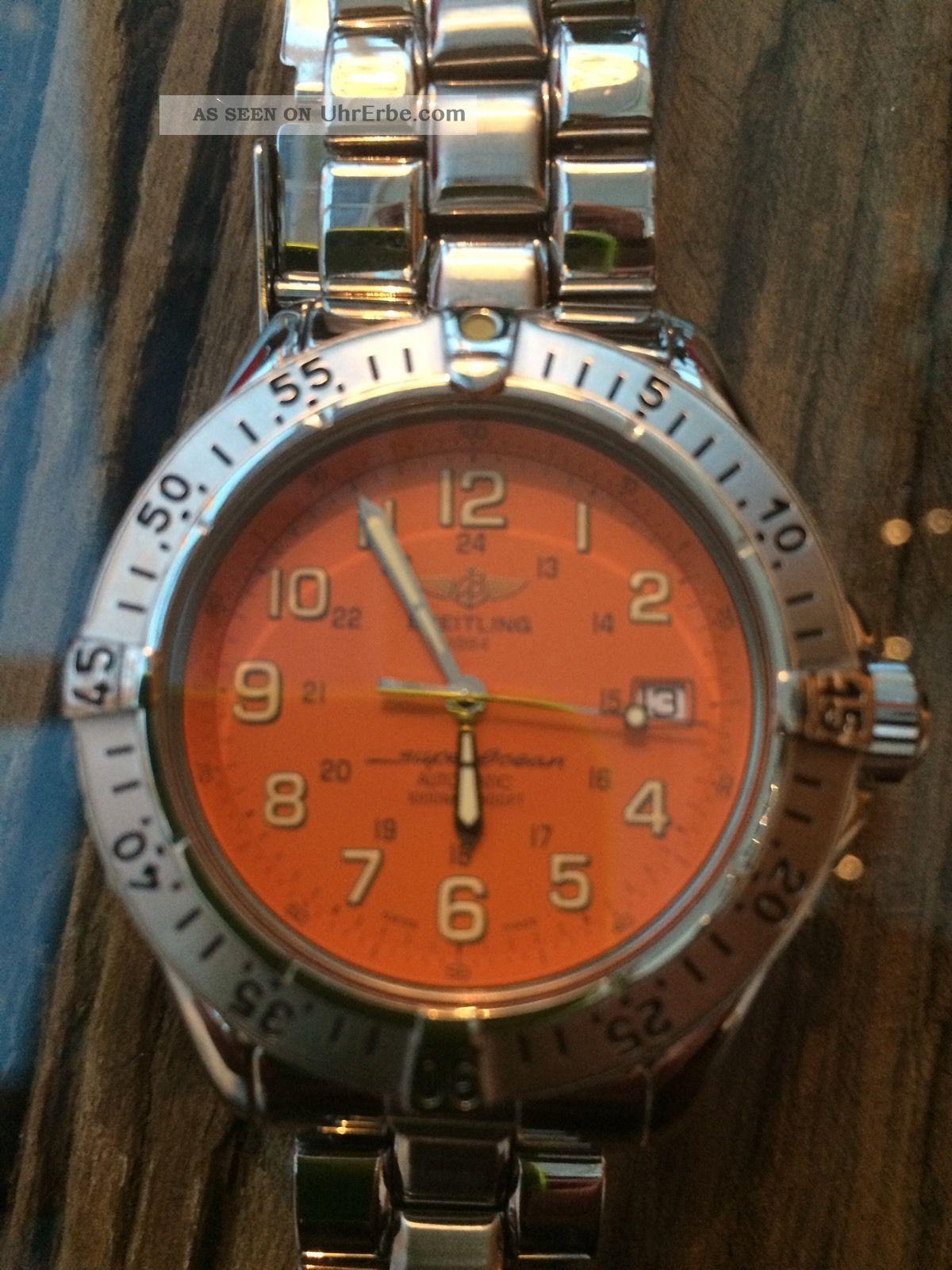 Breitling Superocean 42 Mm A17040 Automatik,  Mineralglas Armbanduhren Bild
