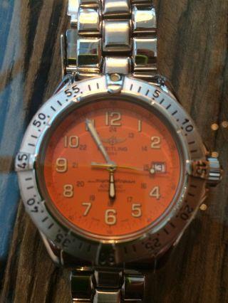 Breitling Superocean 42 Mm A17040 Automatik,  Mineralglas Bild