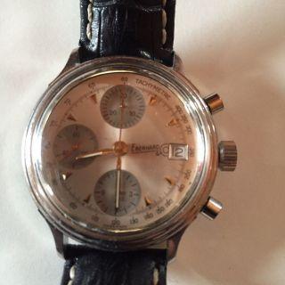 Chrono Eberhard Und Co No 21654 Tachometer Bild