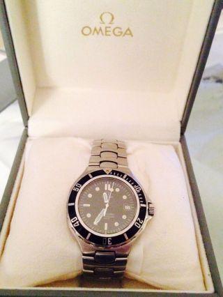 Omega Seamaster Professional 200 Armbanduhr Für Herren Bild