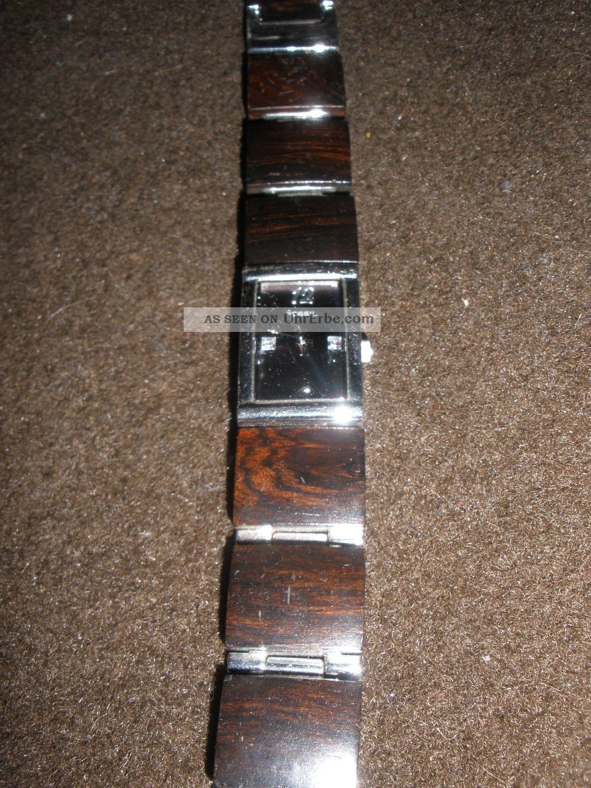 Fossil Armbanduhr Damen Holz ~ Armbanduhr Damen Fossil Holz Armbanduhren Bild
