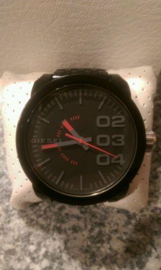 Diesel Herren Uhr Dz1460 Schwarz Uvp 139€ Bild