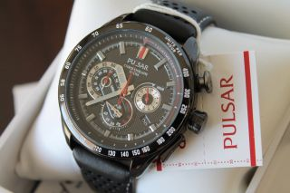 Pulsar Men ' S Chronograph Pu2077x1 In Ovp Bild